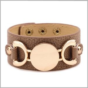 Jewelry - ✨NEW✨ Leather Cuff Bracelet ✨